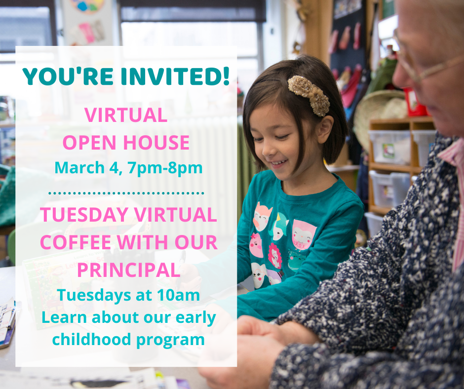 Virtual Open House on March 4