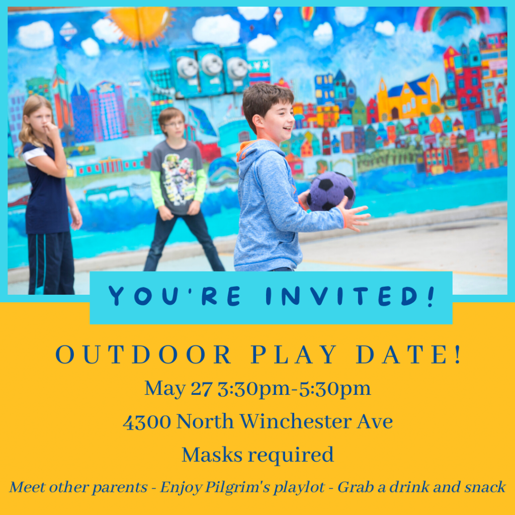 You're invited to our outdoor play date on May 27!