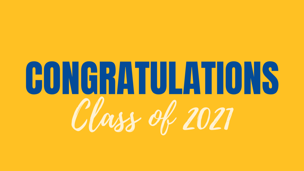 Congratulations Class of 2021 - 8th grade testimonies part 4